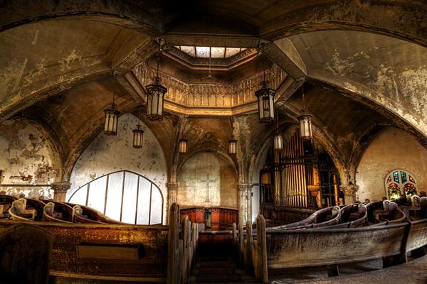 Woodward Church, Architectural Photographer - Rick Harris