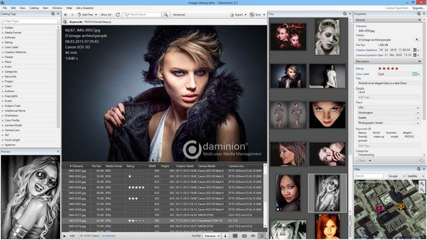 Daminion - multi-user photo management software