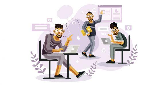 Digital asset Management System Office Teamwork