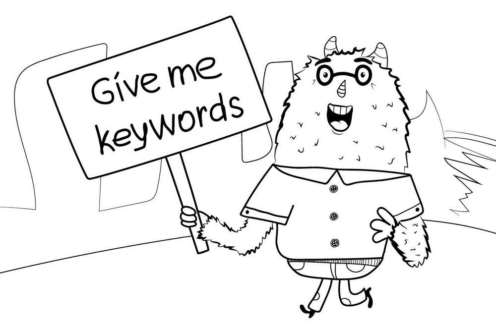 keywords for DAM