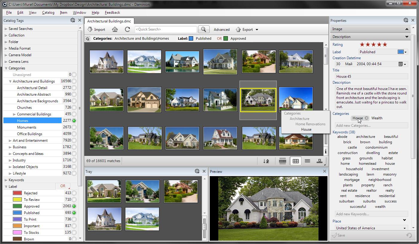 Affordable Home-User Digital Asset Management (DAM) Solution