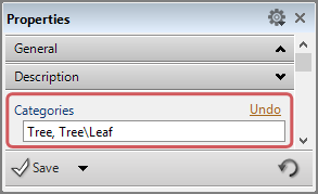 Assigning multiple Tags at once in the Properties Panel
